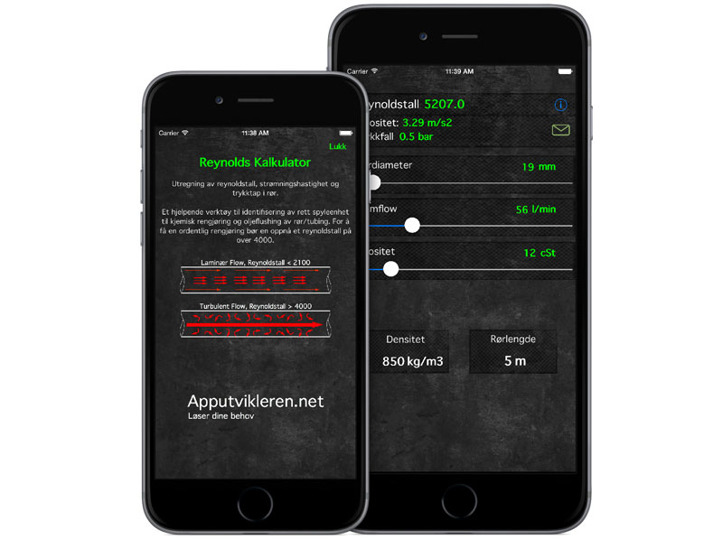Reynolds Kalkulator App