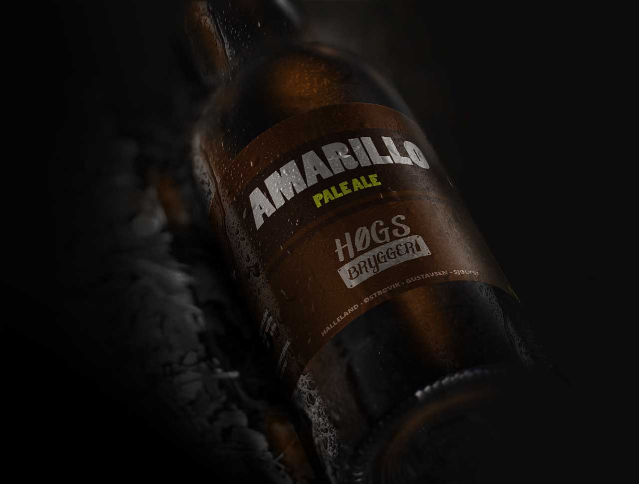 HØGS Bryggeri Armarillo etikett